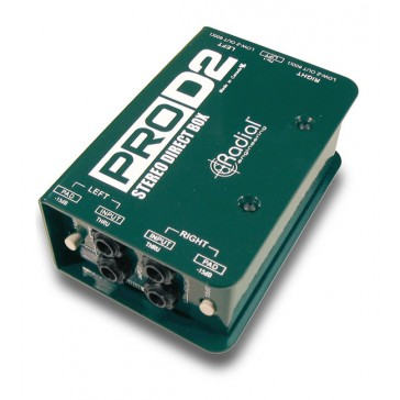 Radial Pro D2 Stereo Direct Box