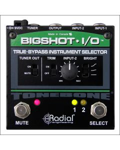 Radial BigShot I/O True Bypass Instrument Selector