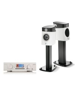 Small Traditional Audio System with Dynamic Speakers