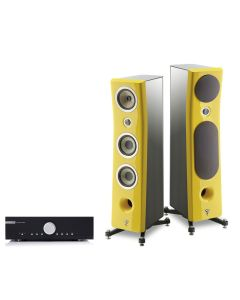 Audiophile System Musical Fidelity and Focal Kanta